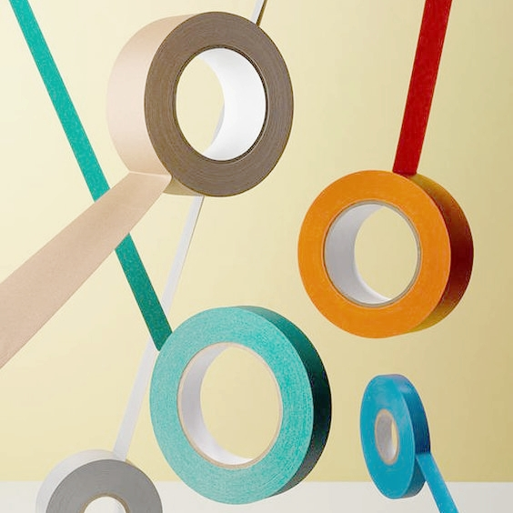 AFTER: Paper tape with natural glue
