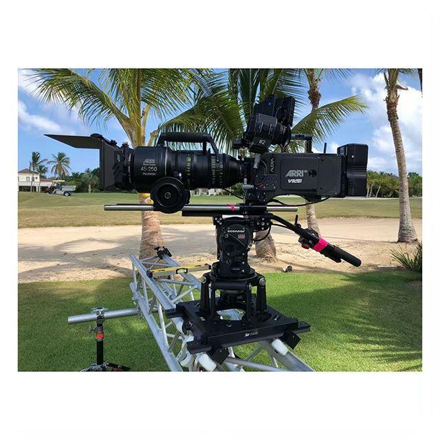 Testing the bazooka [Punta Cana] #Shooting #The #Dominican #Republic #Arri #Alura #Fujinon #🇩🇴