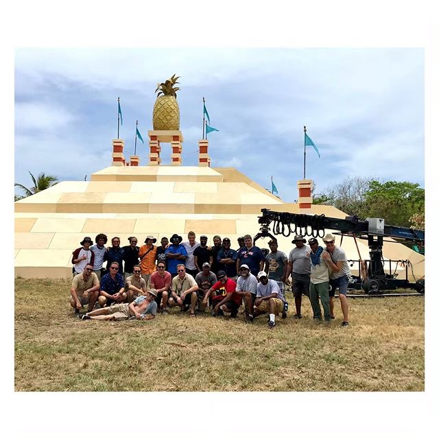 Last day of shoot. Cam and tech department [DR] #PuntaCana #The #Pyramid #Its #A #Wrap