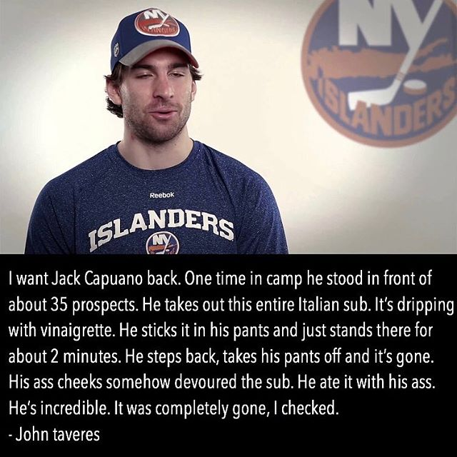 Is Tavares holding out for Capuano?🤔