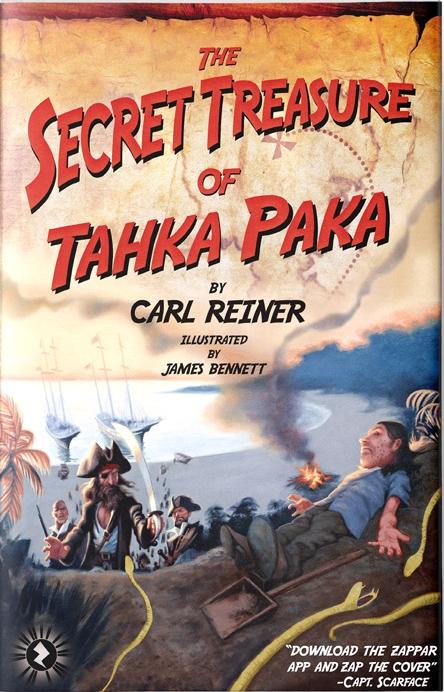 The Secret Treasure Of Tahka Paka    by Carl Reiner