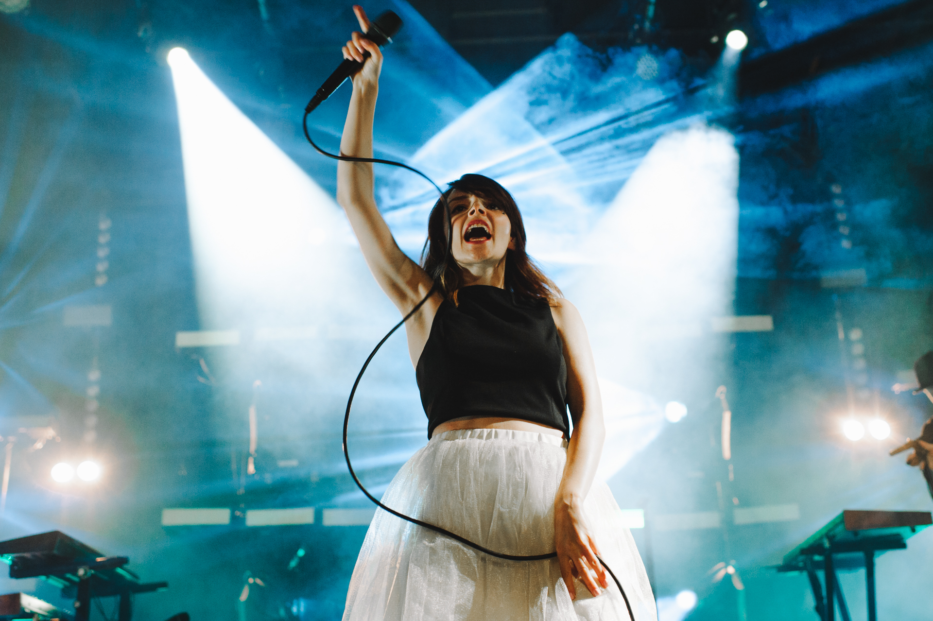 CHVRCHES at Capitol Hill Block Party