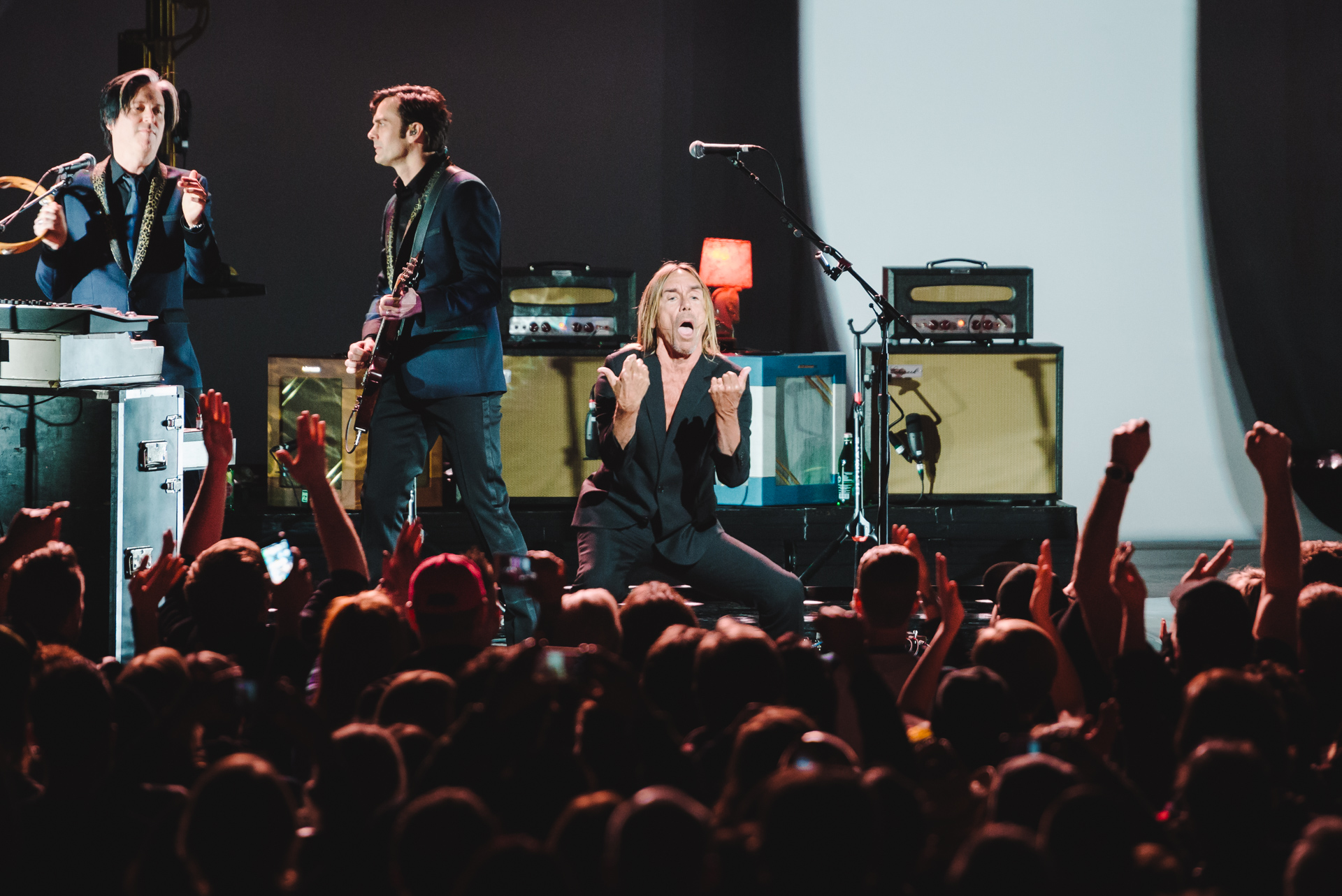 Iggy Pop's Post Pop Depression Tour at the Paramount Theater