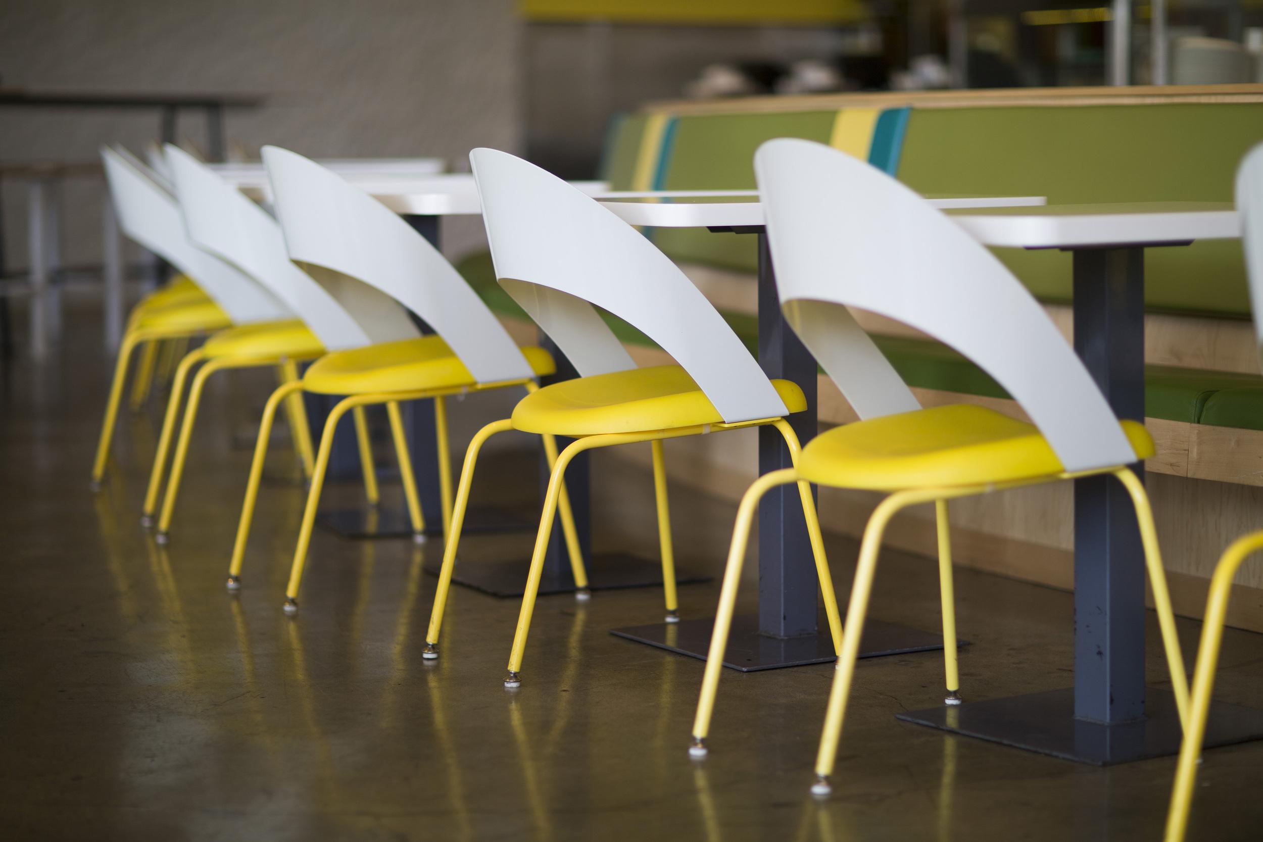 Custom IDV Chairs for Lemonade