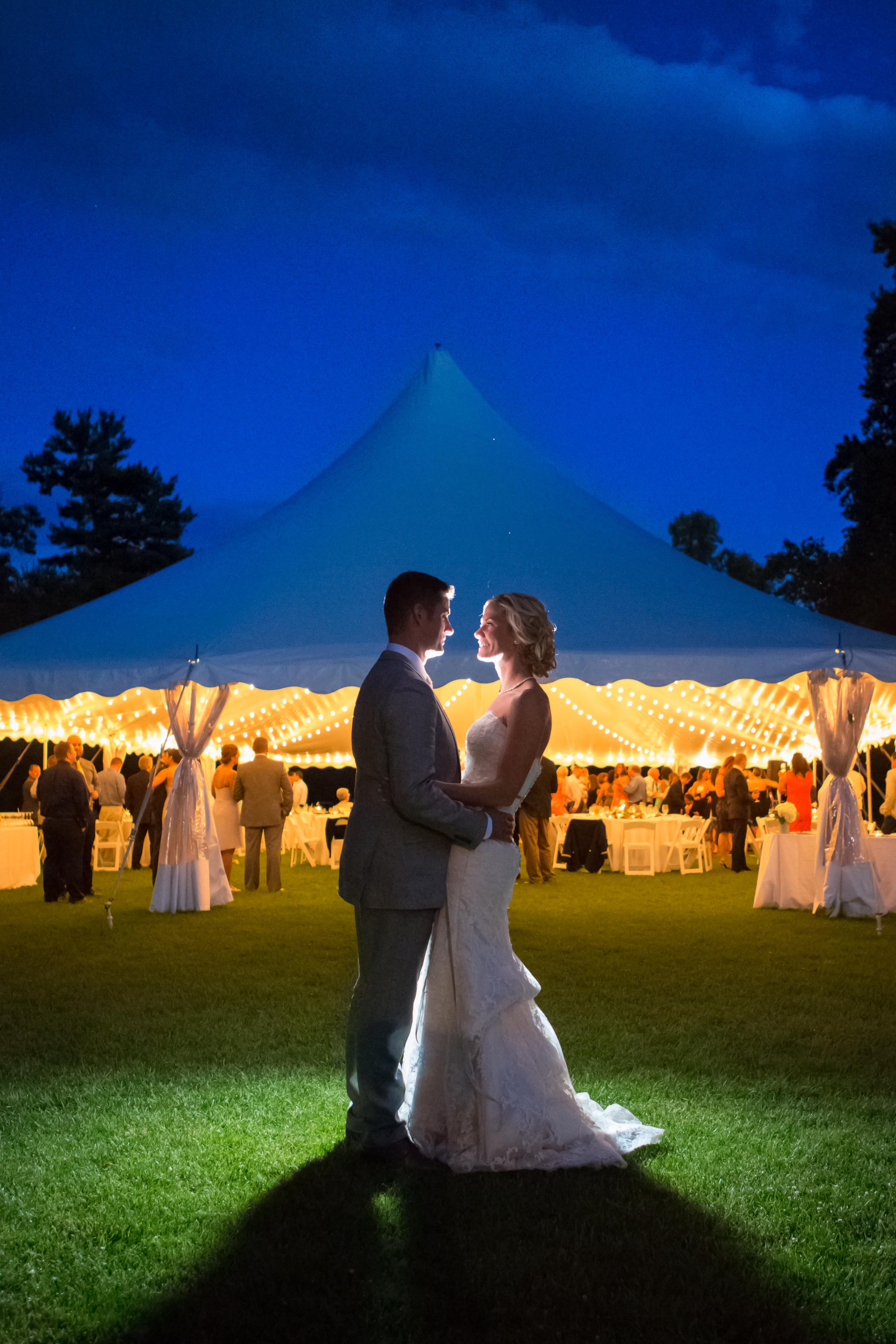 wedding night photo blue sky  romantic moraine farm bevrly ma .jpg