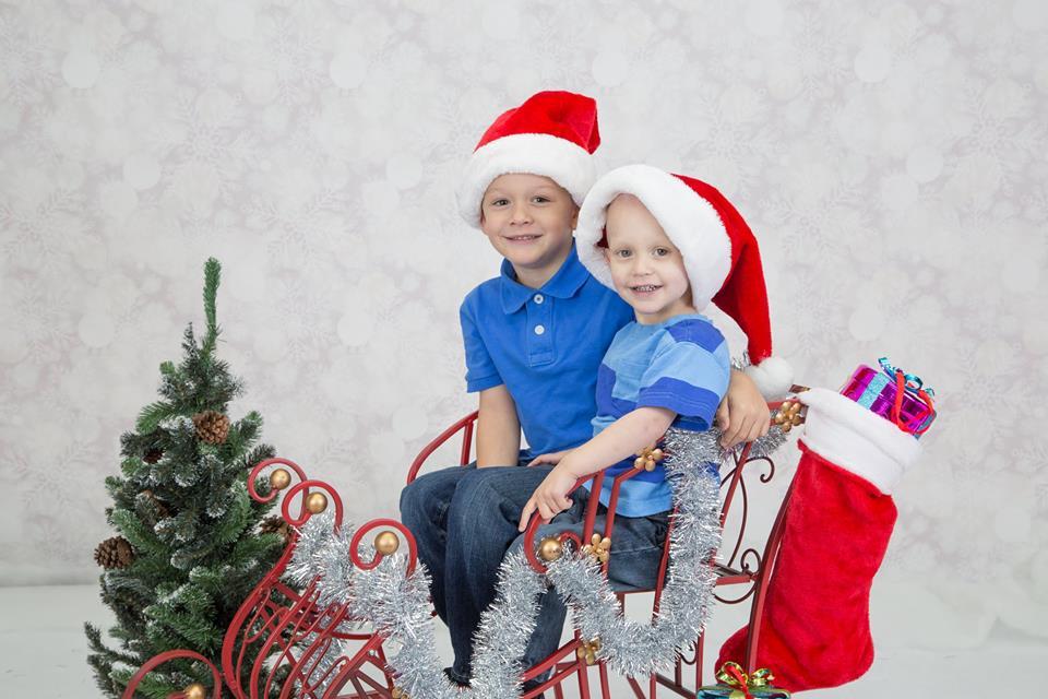 Christmas photos Boston