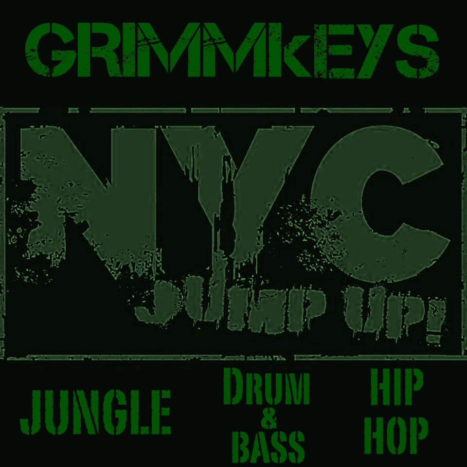 NYC JUMP UP GRIMMkEYS Jungle Drum & Bass Hip Hop Logo 10.jpg