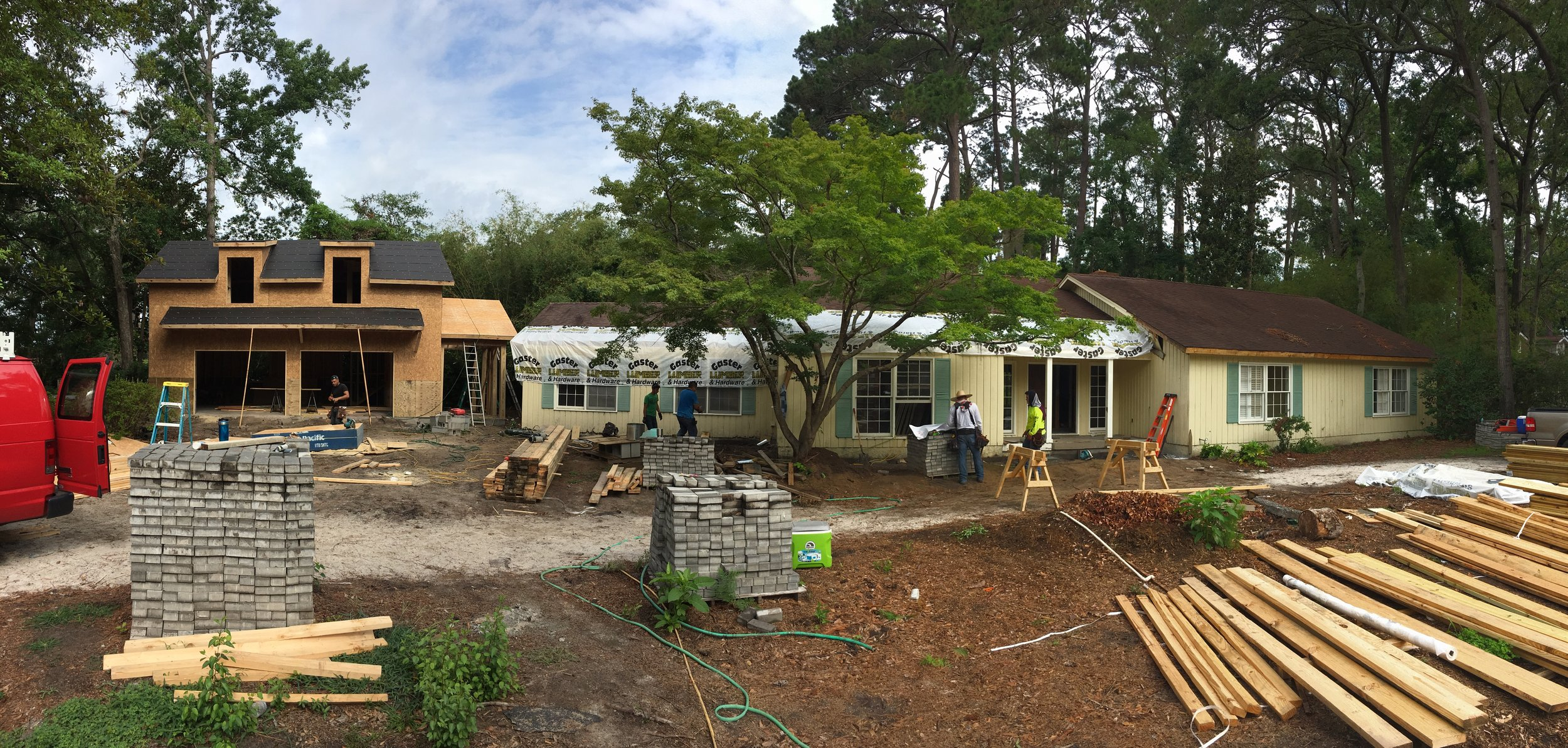 Complete Home Update - Construction of a 800SF two-story garage, whole-house interior and exterior renovations, redesign the 3-bed/2-bath home to become sprawling 5 bed/3.5 bath home, complete update of all interior finishes.SEE MORE