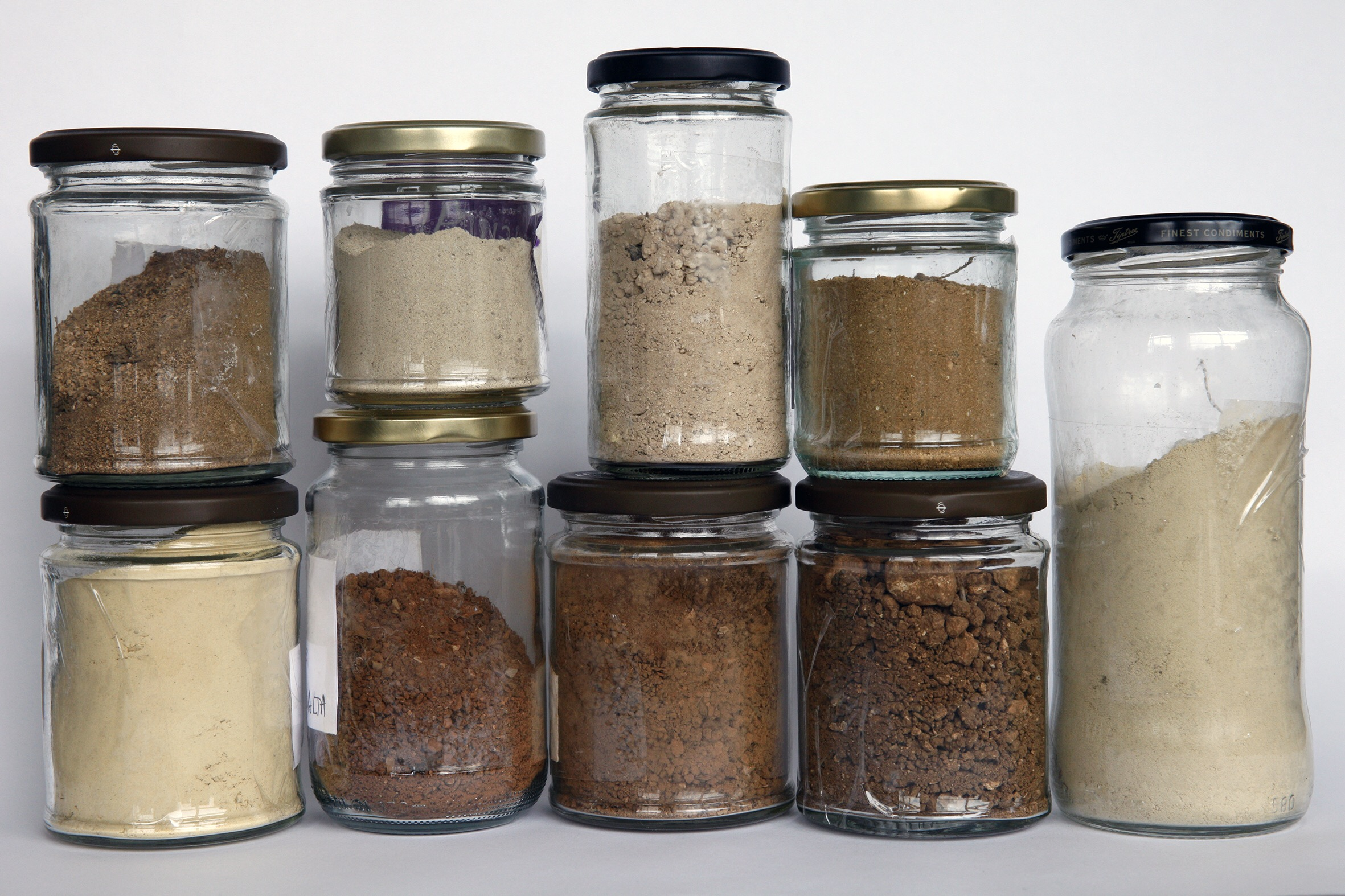 Earth collected from each location I make a photograph in will be ground into paint pigment.