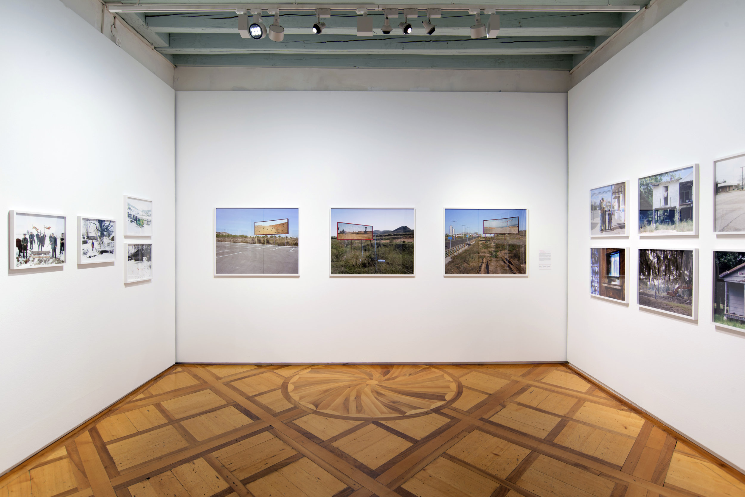 Imported landscapes installation view