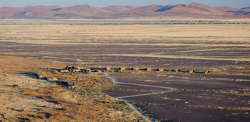 Set on 37 000 hectares of land near the spectacular sights of Sossusvlei, the private Kulala Wilderness Reserve is home to Kulala Adventurer Camp.