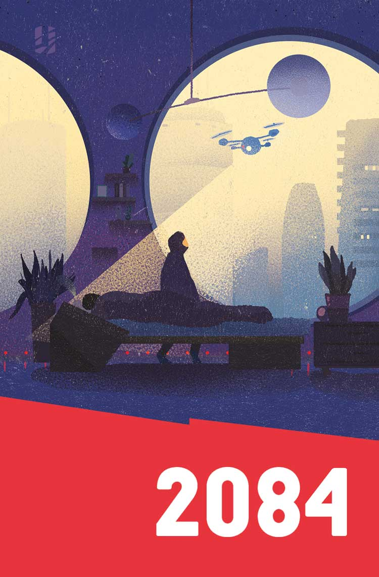 The 2084 Anthology Cover