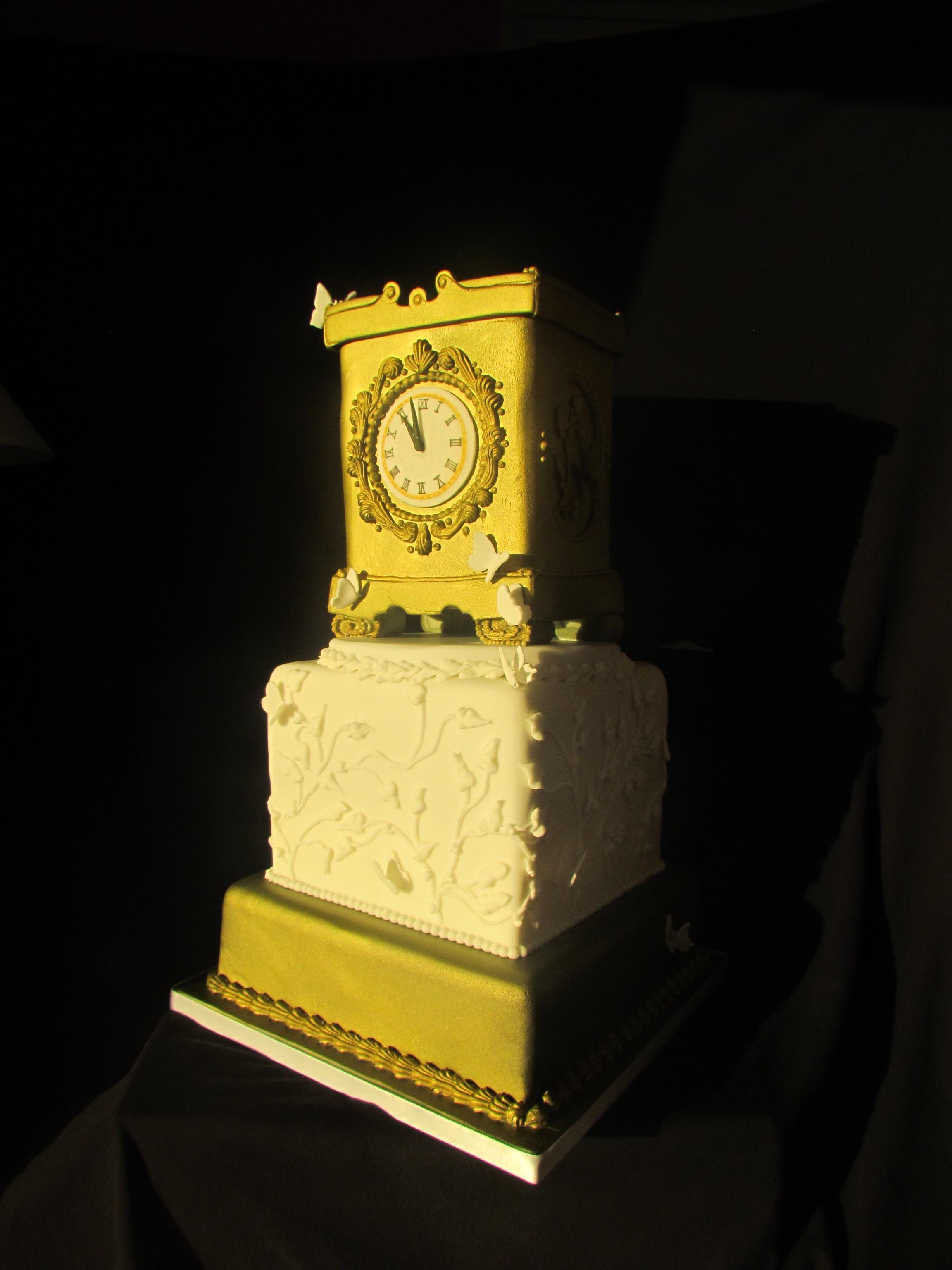 Cake-Peboryon-clock-winner-awards-delicious-cornwall-cakeshow-cake-show