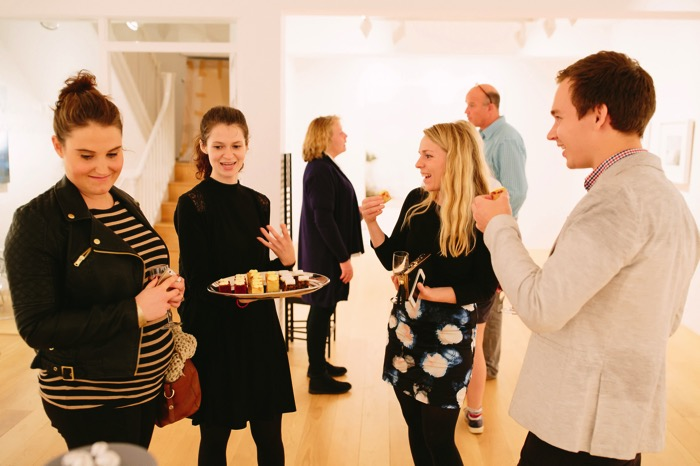 Duchy wedding collection launch canapes