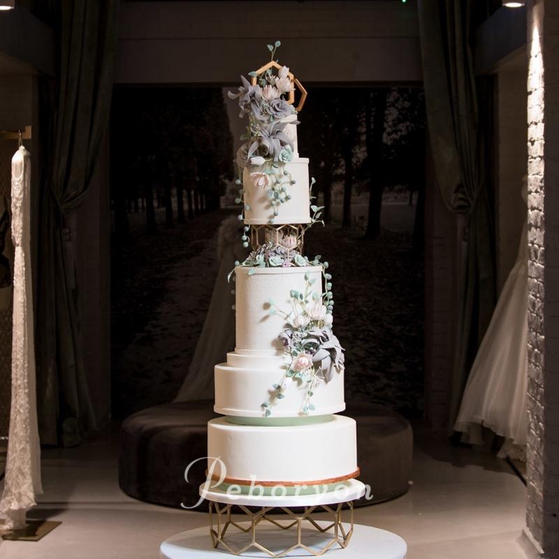 2018-Peboryon-Cornwall-London-Luxury-Wedding-Cake-The-Wedding-Gallery-Hall-Geometric-succulents-sugar-flowers-award-winning.jpg