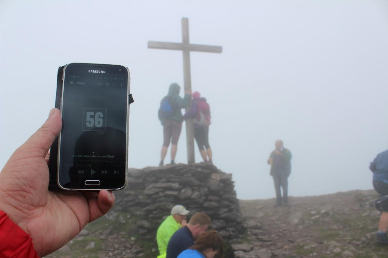 Niall on Mount Brandon
