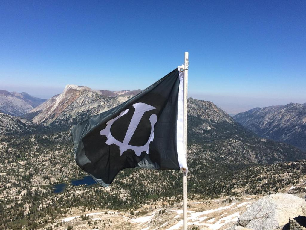 Flag at the Summit