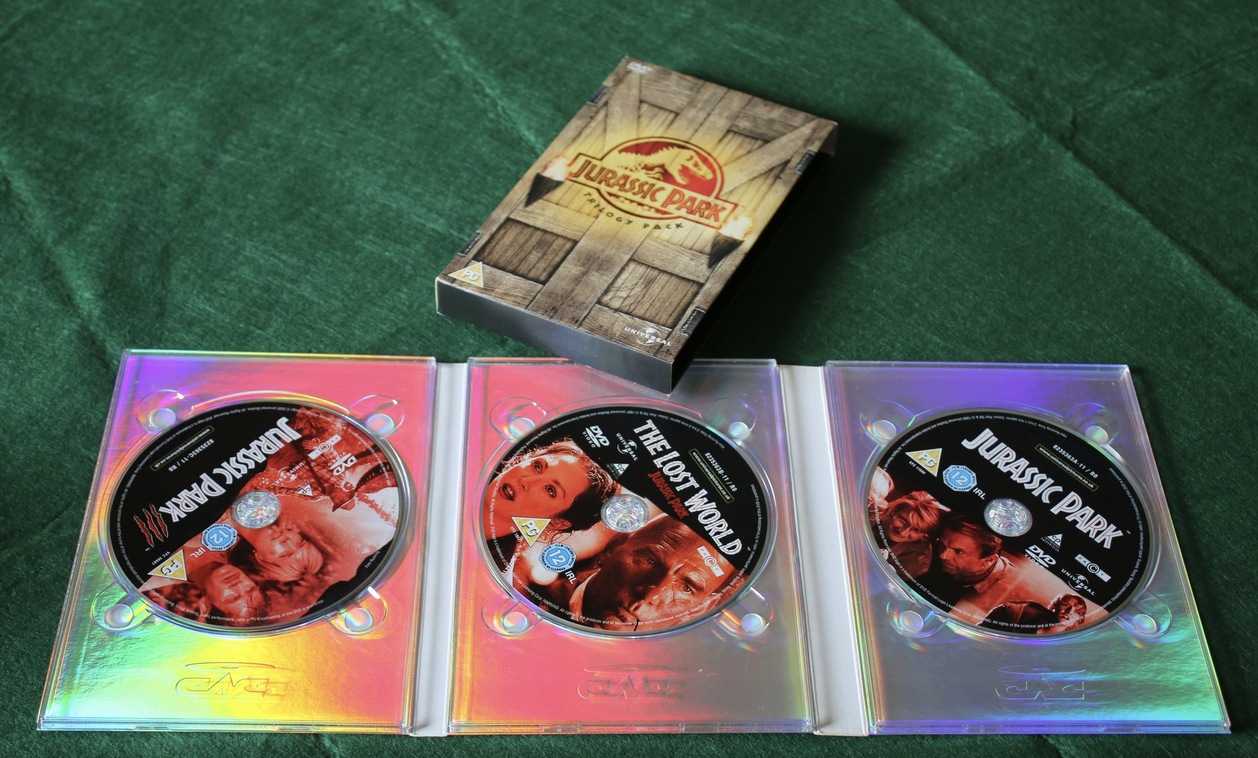 Jurassic Park Trilogy on DVD (From Tim to Brady)   BUY THIS