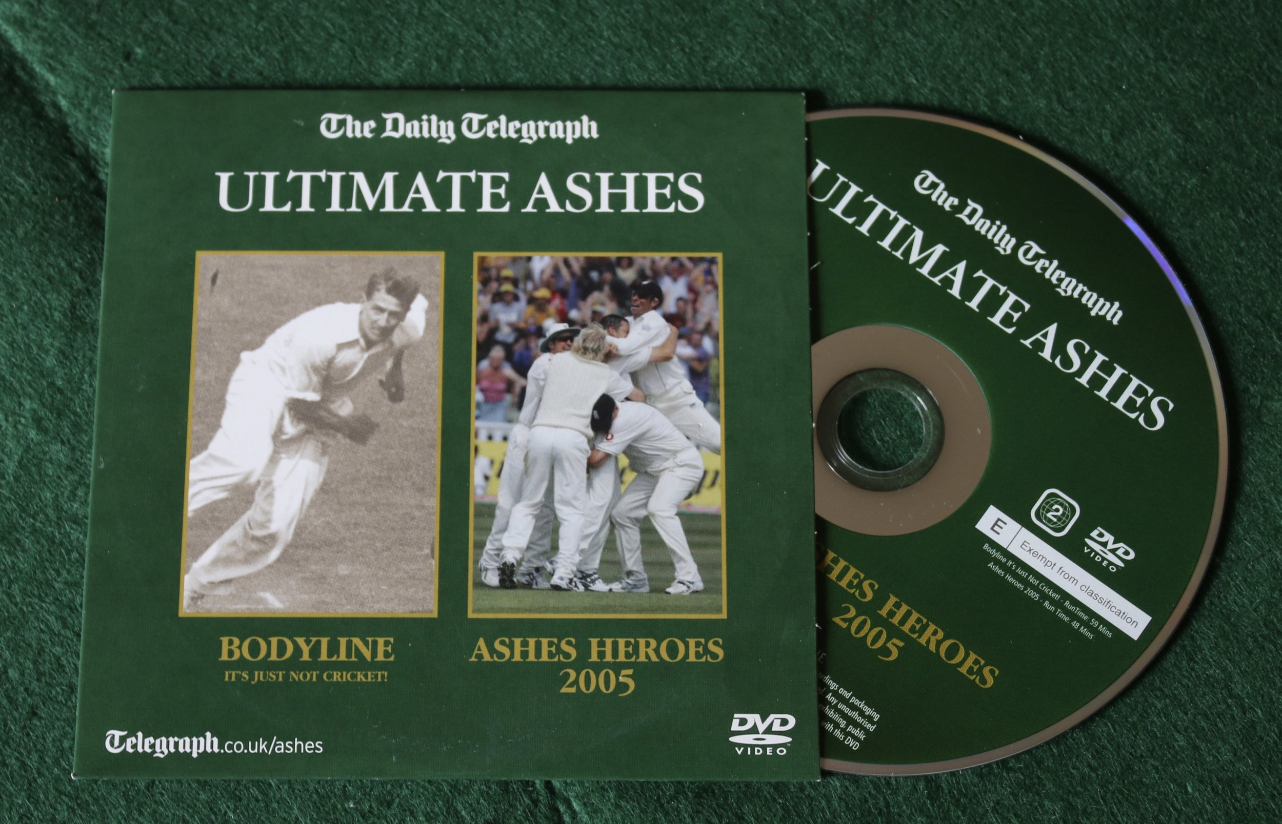 Ultimate Ashes DVD (From Tim to Brady)   BUY THIS