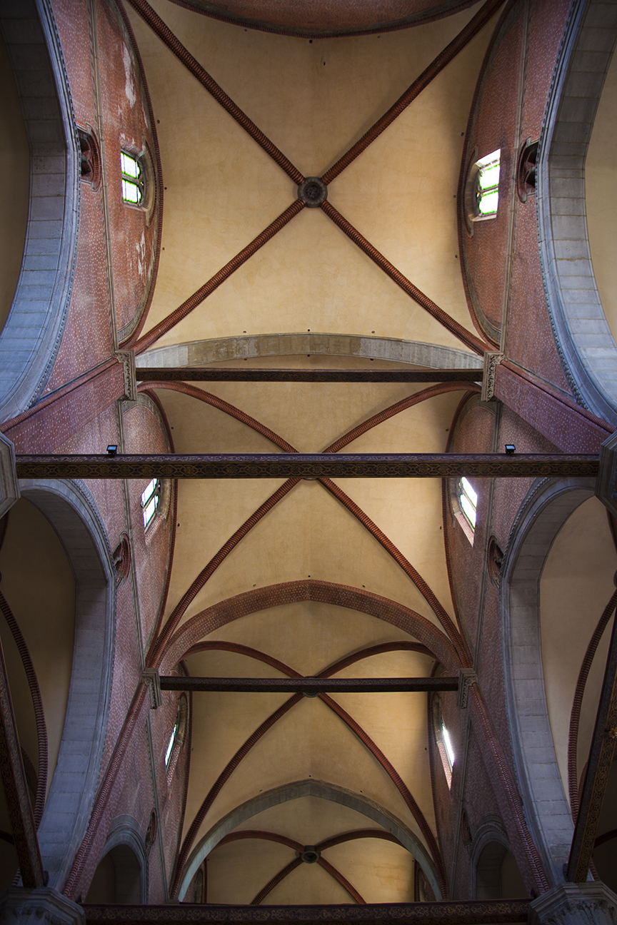 Roof of a church