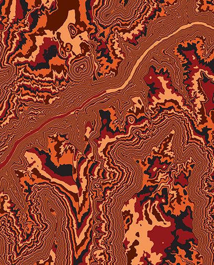 LAVA FALLS, GRAND CANYON NP, ARIZONA