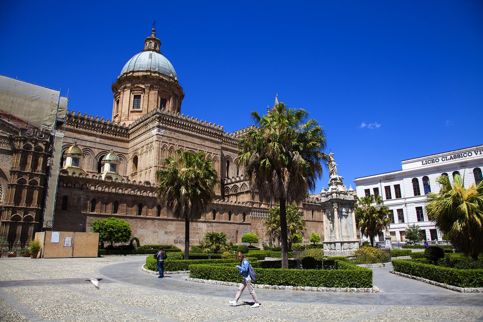 square in Palermo