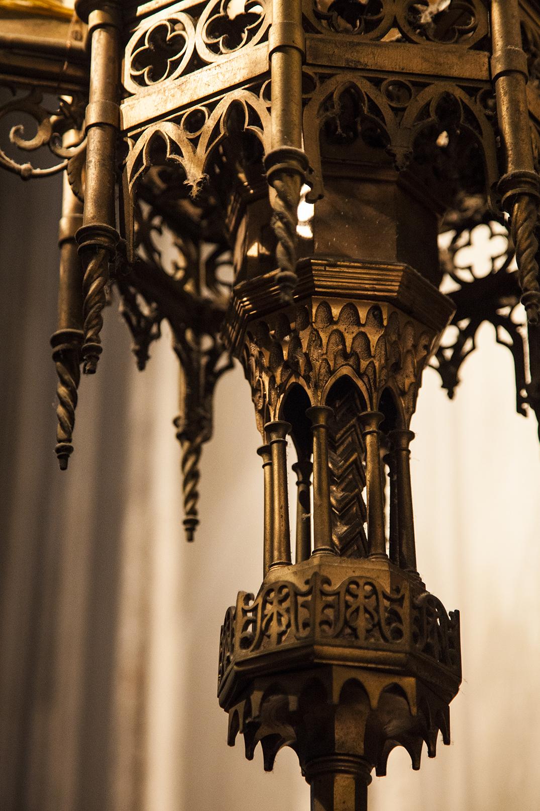 lamp post, sorta