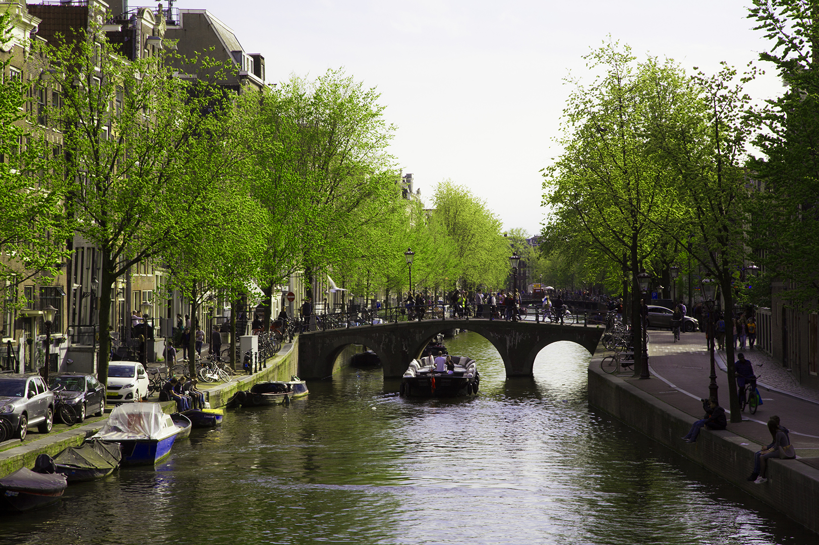 Amsterdam, you know, boats and hoes