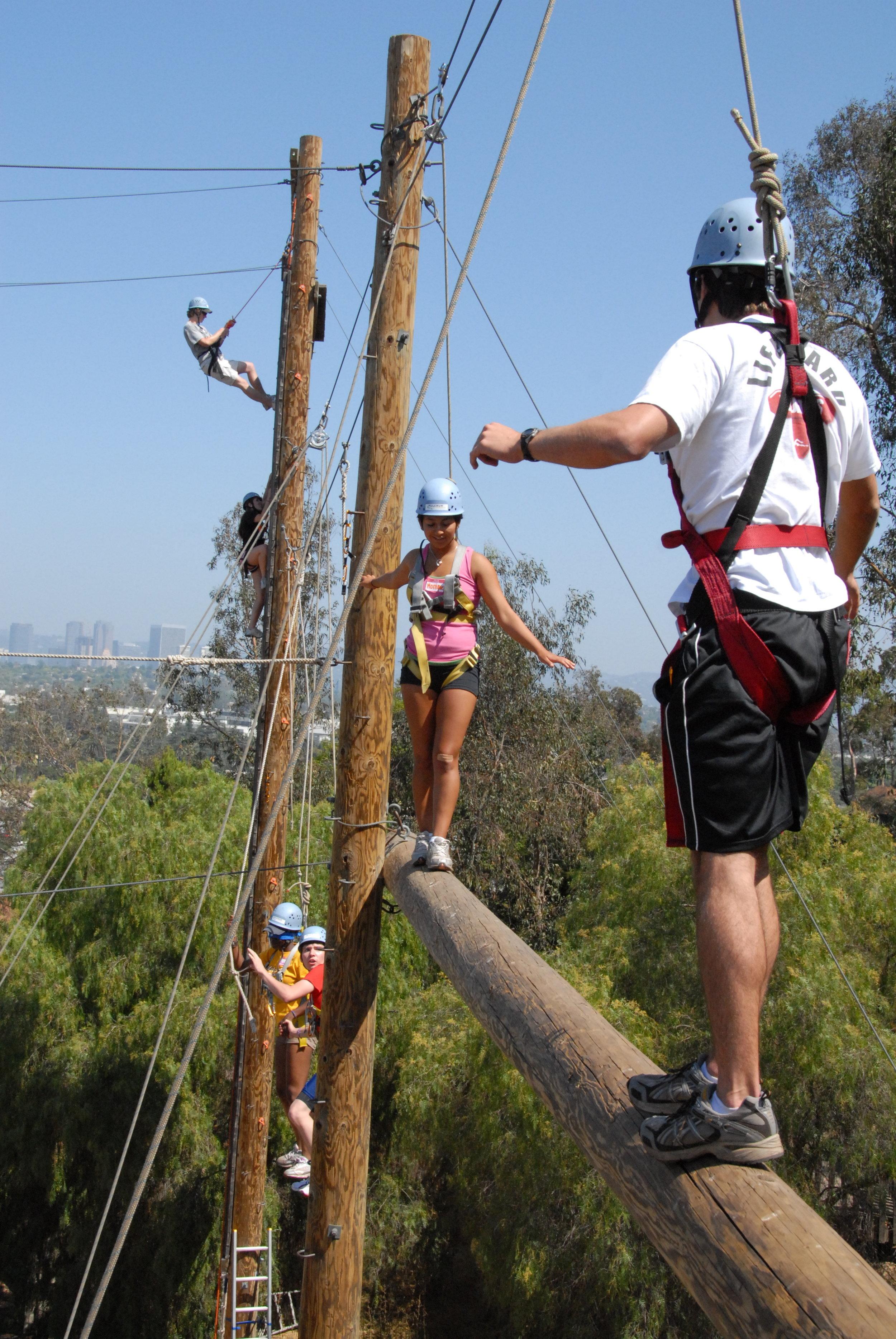 Fulcrum Team Building, Ropes course at Culver City  2.JPG