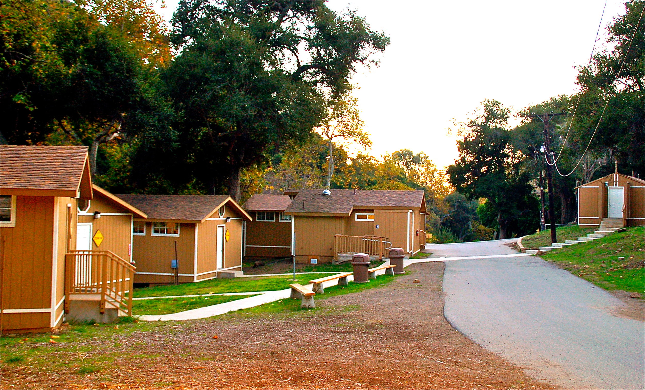 Hess Kramer cabins youth retreat.JPG