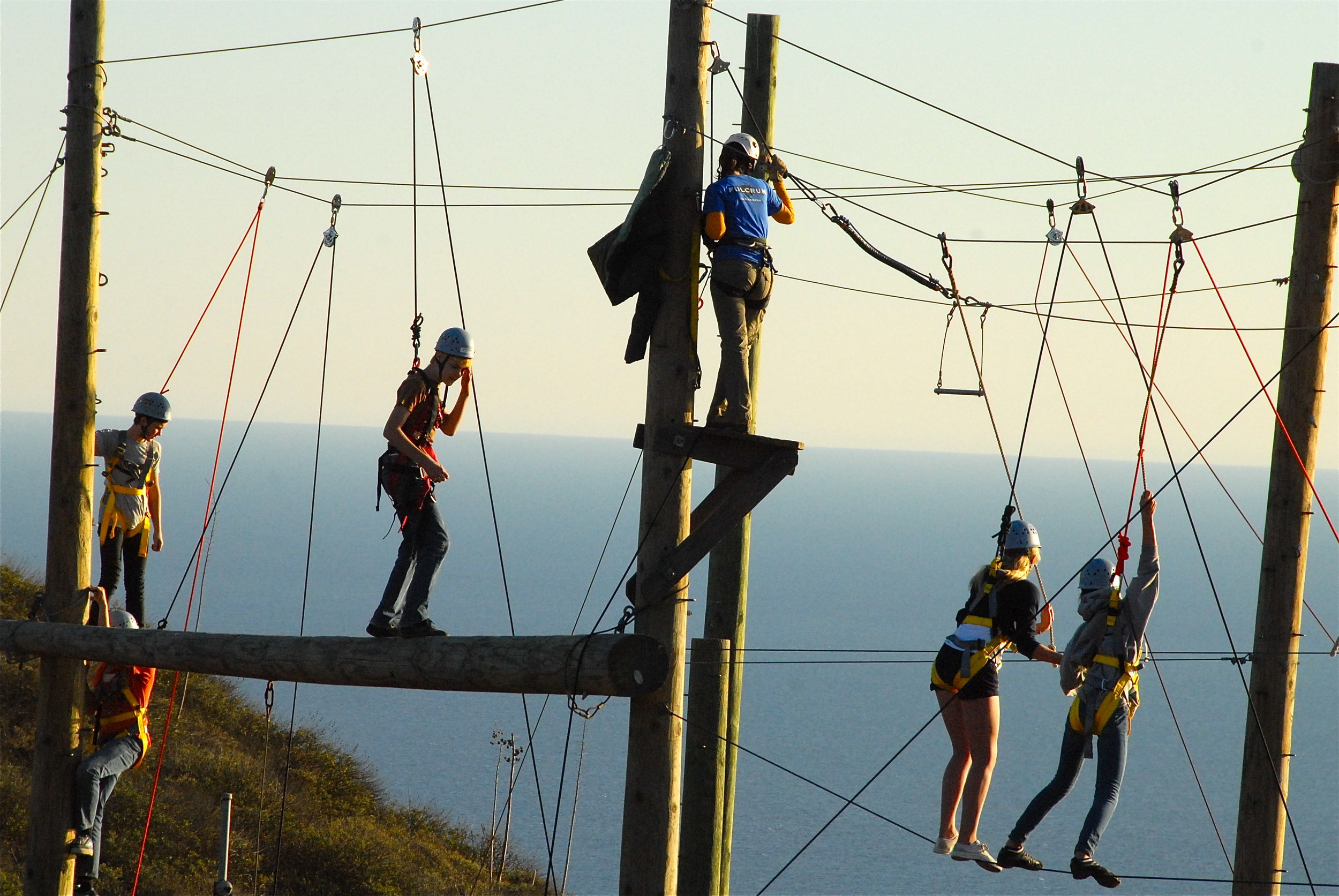High Challenge Ropes Course Ginding Hilltop.JPG
