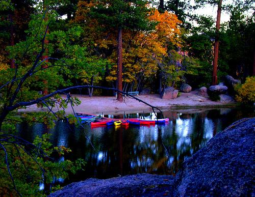 Big Bear Canoeing on Lake.jpg