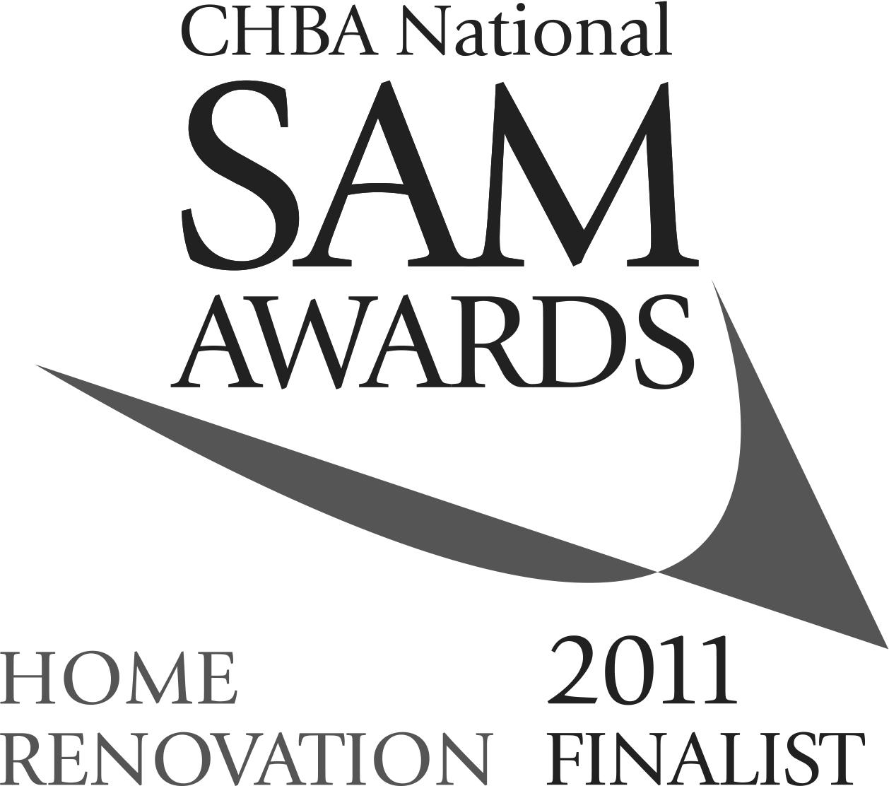 2011 SAM Awards Best Kitchen Renovation Finalist