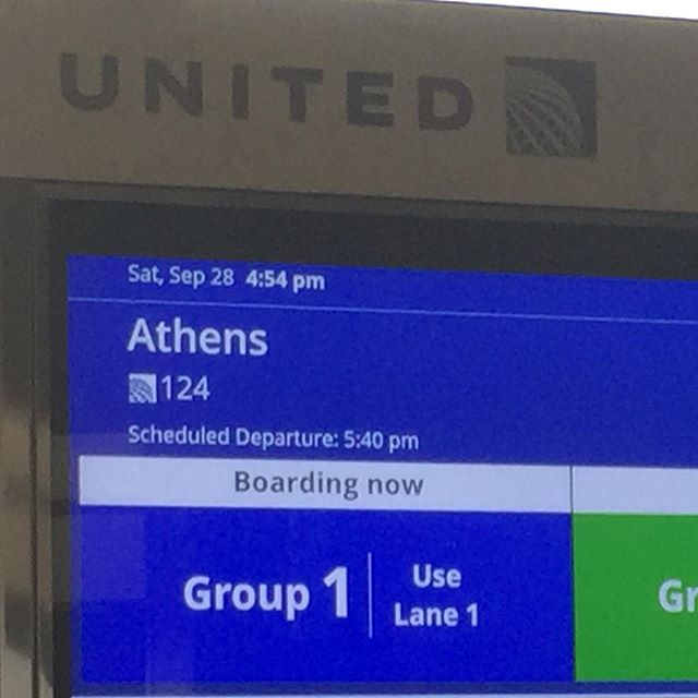 Mamma Mia...here we go again!!! Really hoping this Greece sequel is better than the last!  Sorry #michellephieffer #nationallampoonseuropeanvacation #eurotrip #athens
