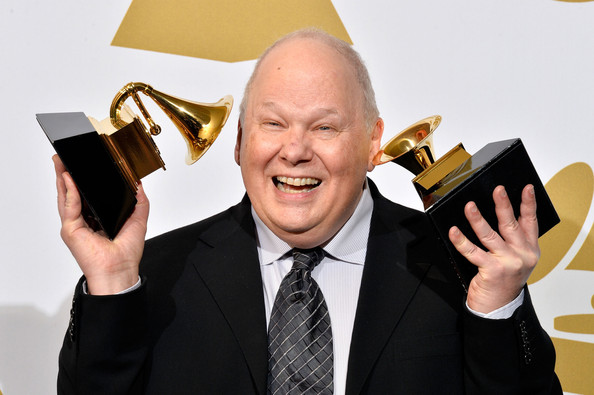 See, Bob still loves it. Look how stoked he is to win his 10th and 11th Grammy.