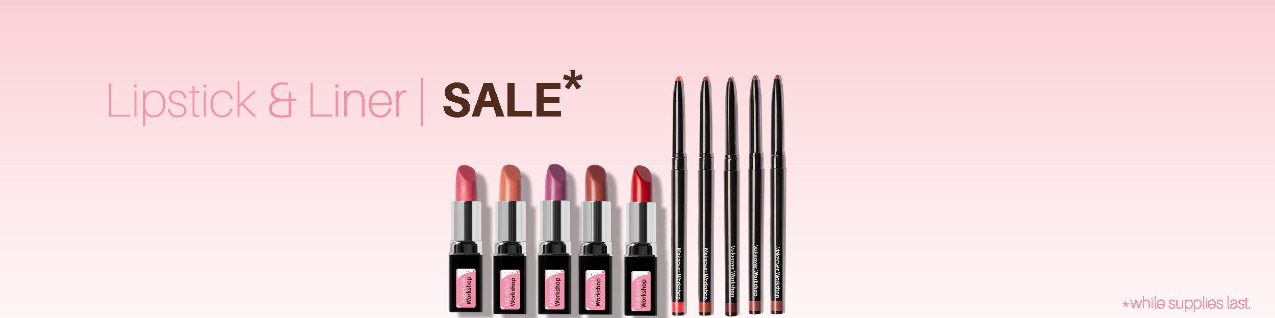 up to 55% off - added Lipsticks Colors!