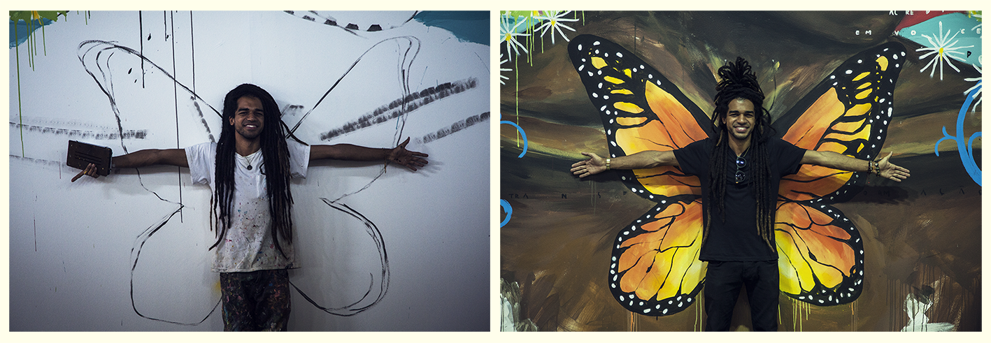 A travessia da lagarta à borboleta.