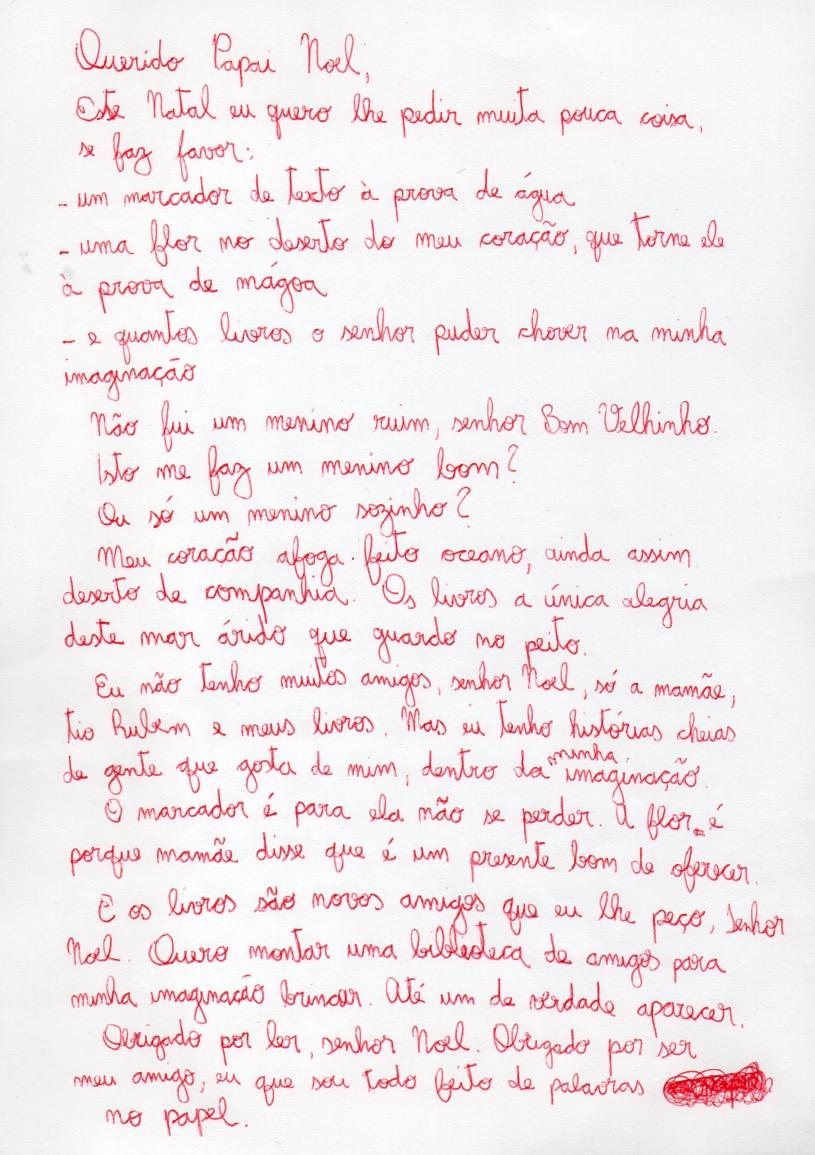 """Carta de Natal #1"", by Hugo Inglez"