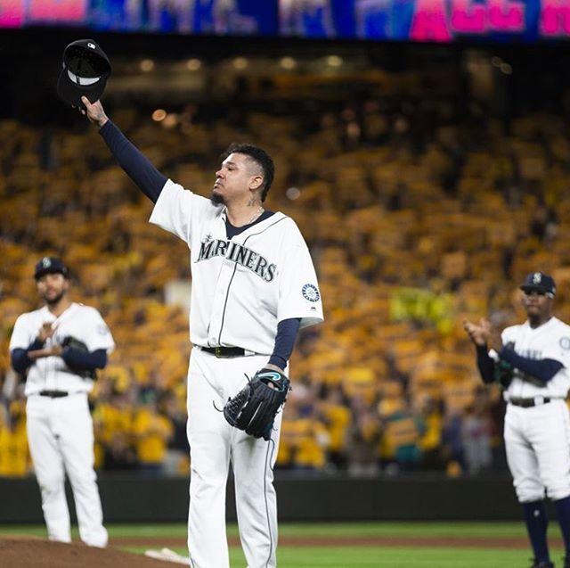Hats off for an amazing run in Seattle for King Felix