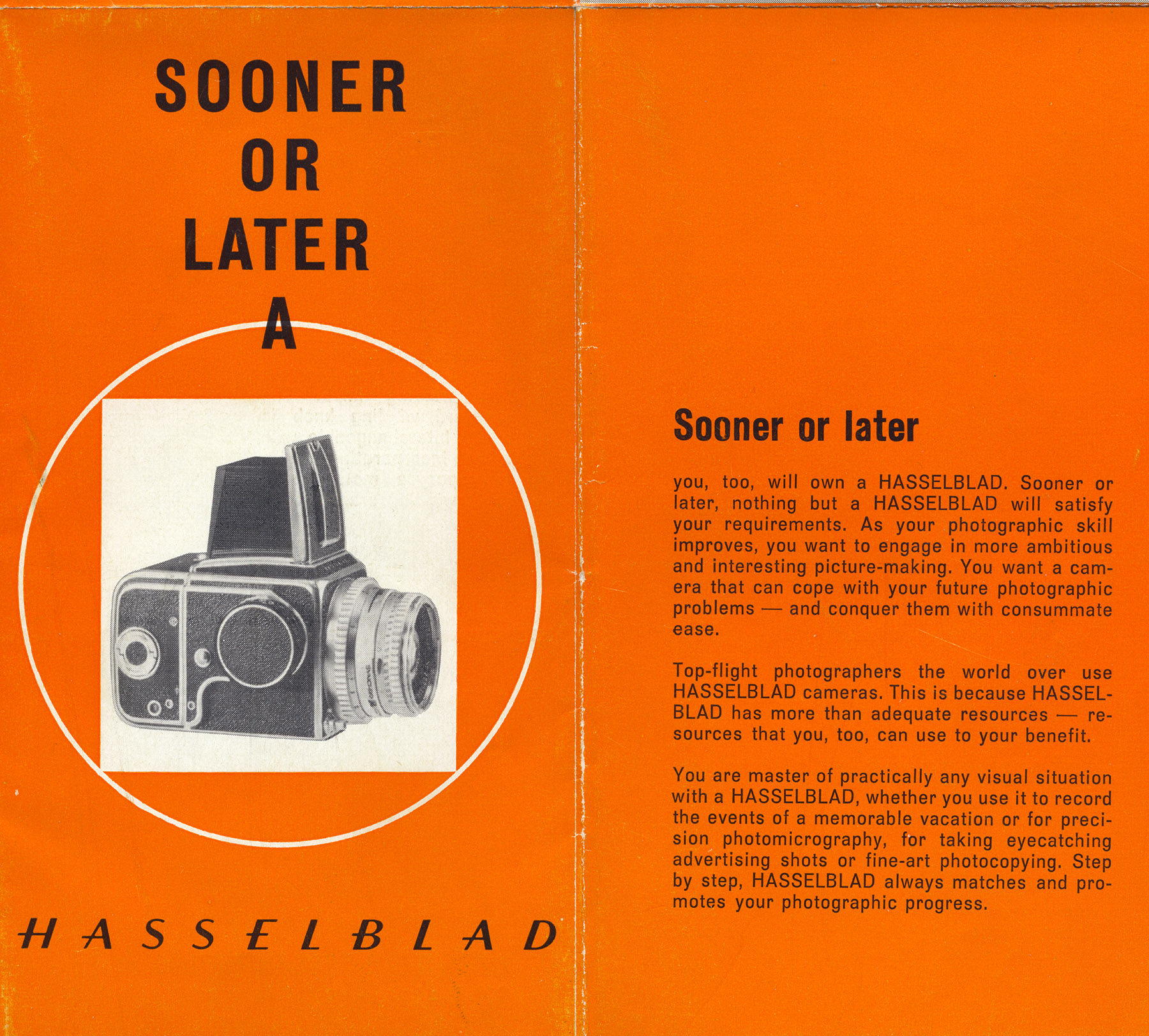 Hasselblad Ad