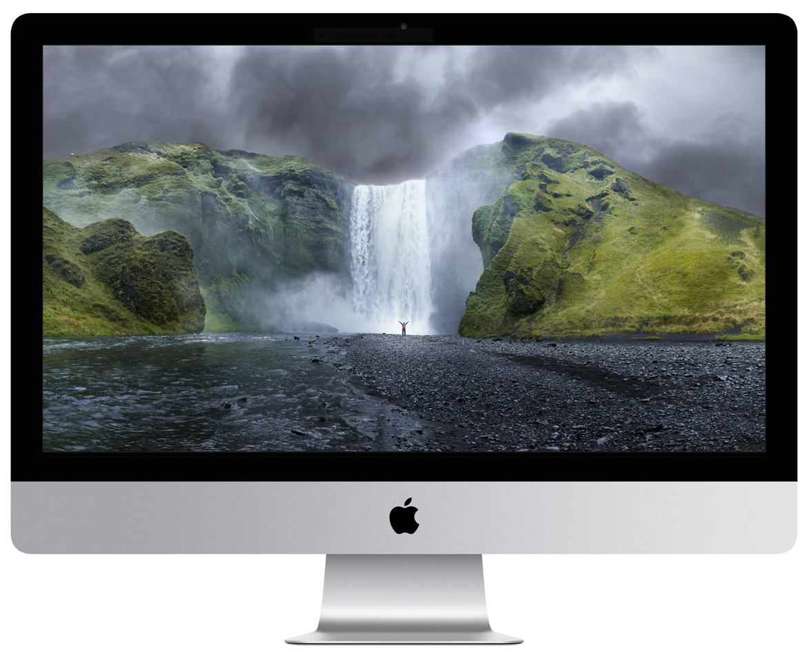 The retina iMac shines with more resolution than a zillion Nokia bricks.