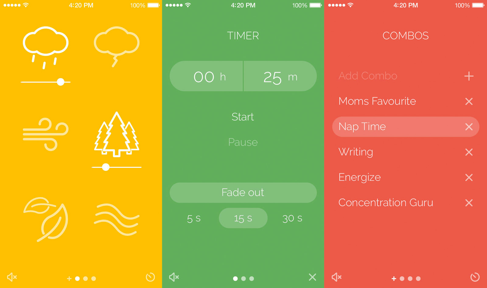 Noisli (available on the web and on iOS devices) gives you customizable white noise.