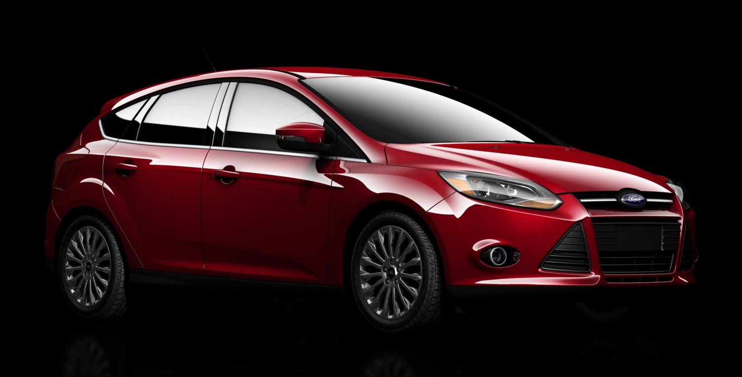 The Ford Focus 5-Door rendered in Softimage.