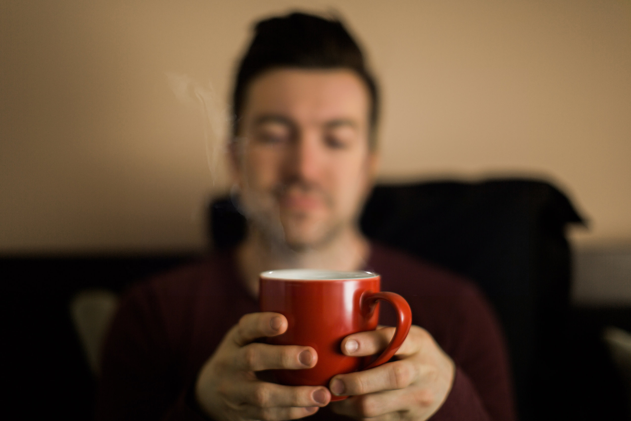 With three hours to burn, coffee becomes a meditative ritual.