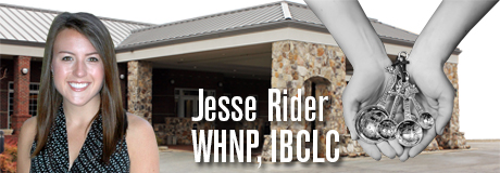 Jesse Rider, WHNP, IBCLC.