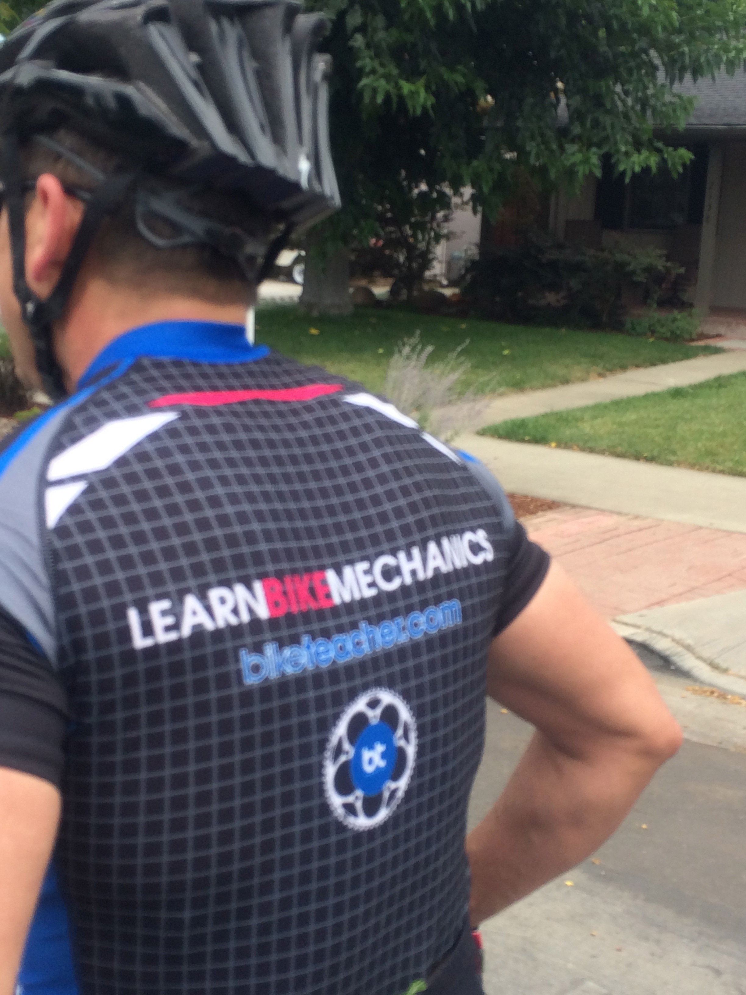 2013 learn bike mechanics jersey