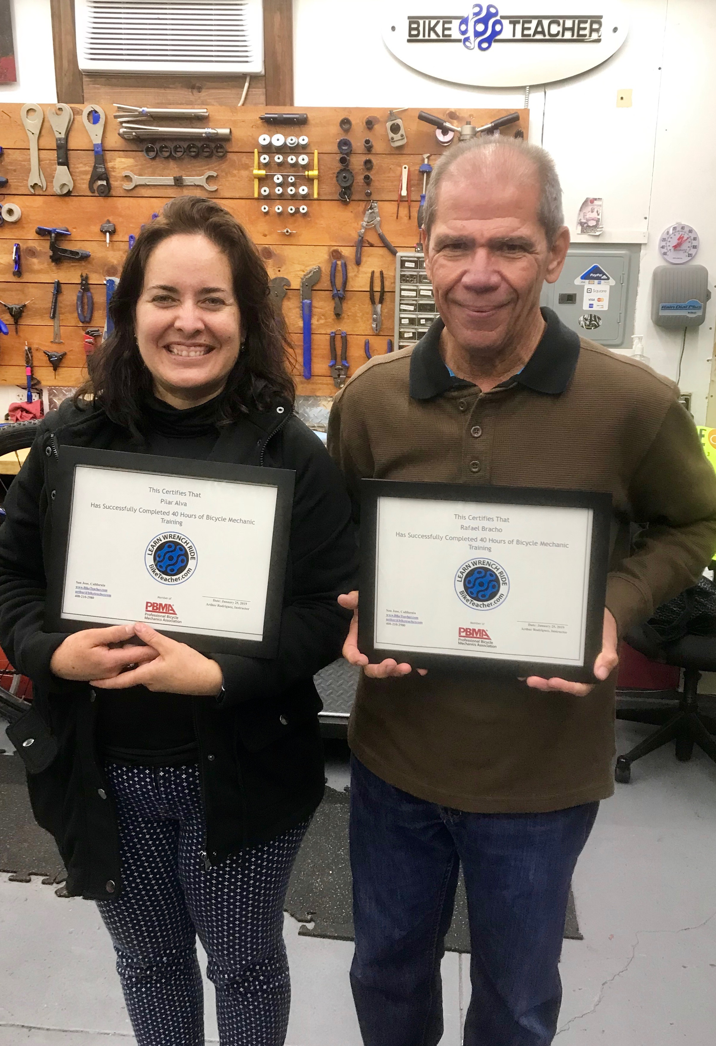 I took a 40 hours of Bicycle Mechanic Training with Arthur, it was a 100% hands-on experience.After this course, I am able to maintain, identify problems and repair bikes.Excellent course, good ambient I highly recommend it. - Rafael & Pilar From Miami Florida January 2019. Both avid road cyclist.