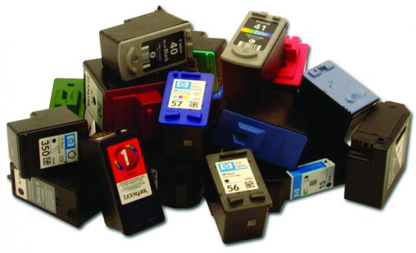 Bring in your used ink cartridges and we'll recycle them at Staples. Each cartridge brings in $2 to help us buy office supplies.