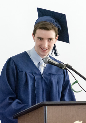 Liam Siegler reflects on the future awaiting the class of '19.