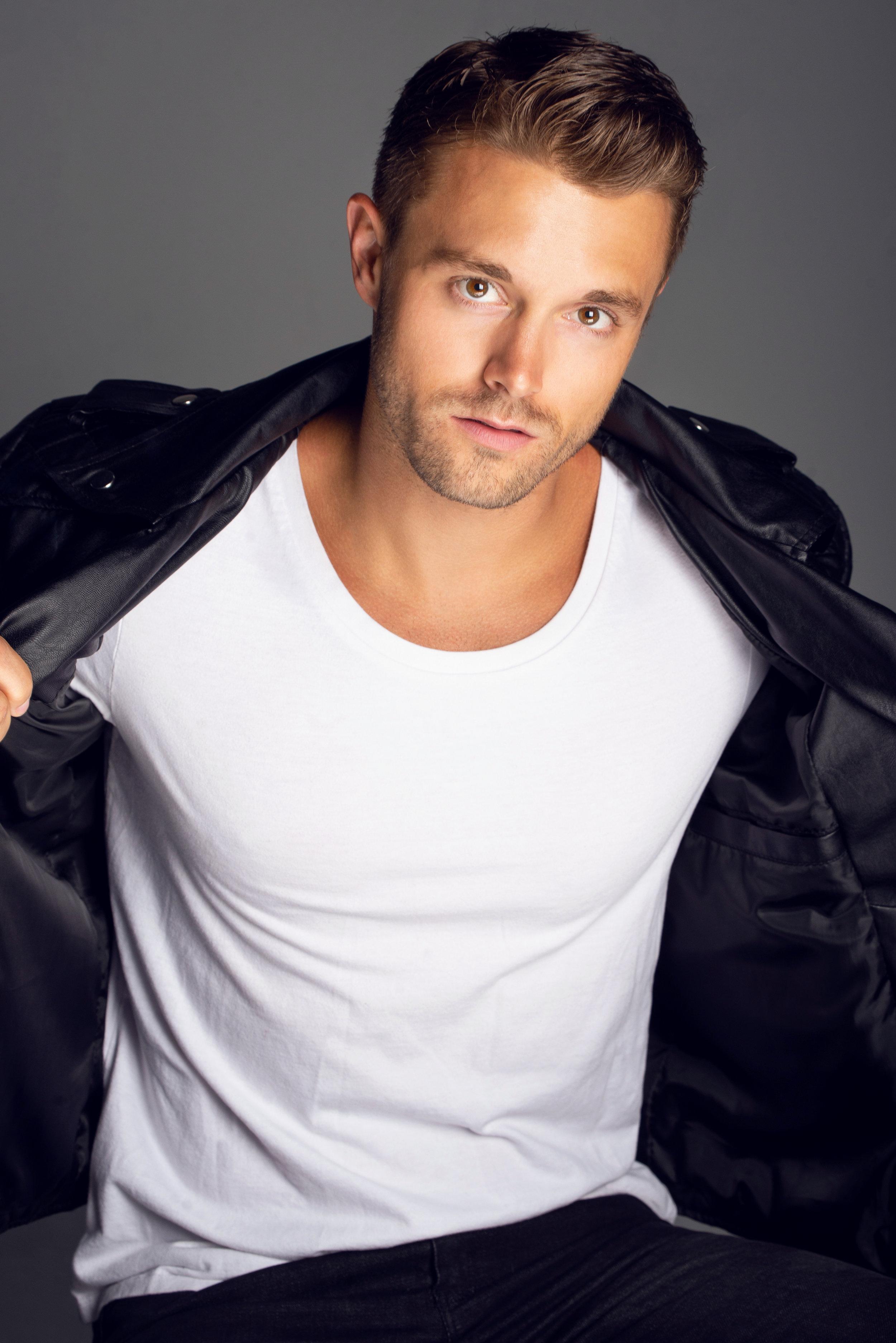 Model: Andrew Mackorell  Agency: BMG Atlanta